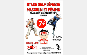 STAGE SELF DÉFENSE AU J3 SPORT AMILLY